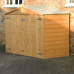 Bike Store 7X3 Shiplap Apex Wooden Shed