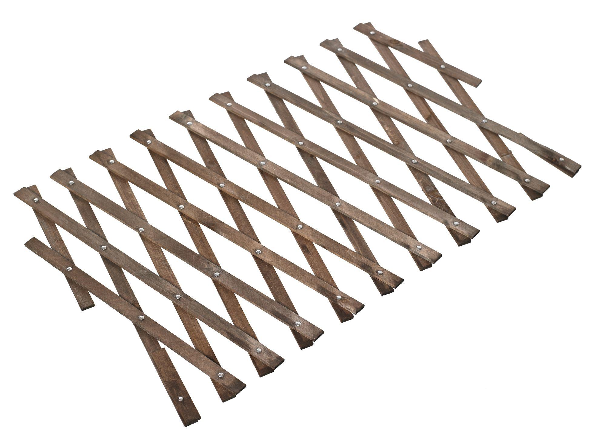 expanding timber square trellis h 300mm w. Black Bedroom Furniture Sets. Home Design Ideas