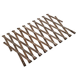 Expanding Timber Square Trellis (H)300mm (W)1.8m