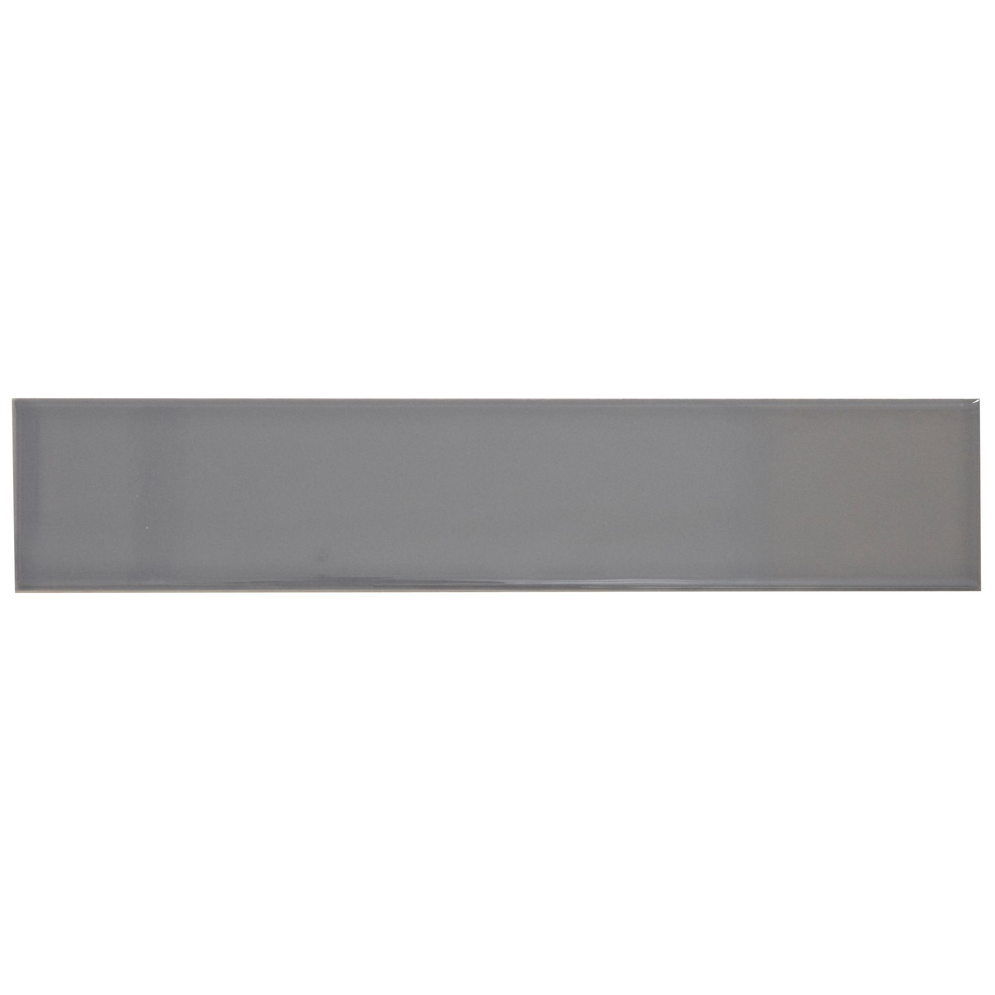 Holborn White Ceramic Wall Tile Pack Of 20 L 250mm W: Grey Ceramic Tile