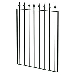 Blooma Steel Spear Top Narrow Gate (H)930mm (W)770mm