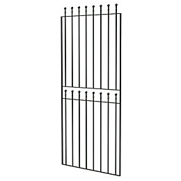 Blooma Steel Ball Top Wide Gate (H)1800mm (W)810mm