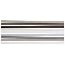 City Chic Neutral Mix Ceramic Border Tile, (L)400mm