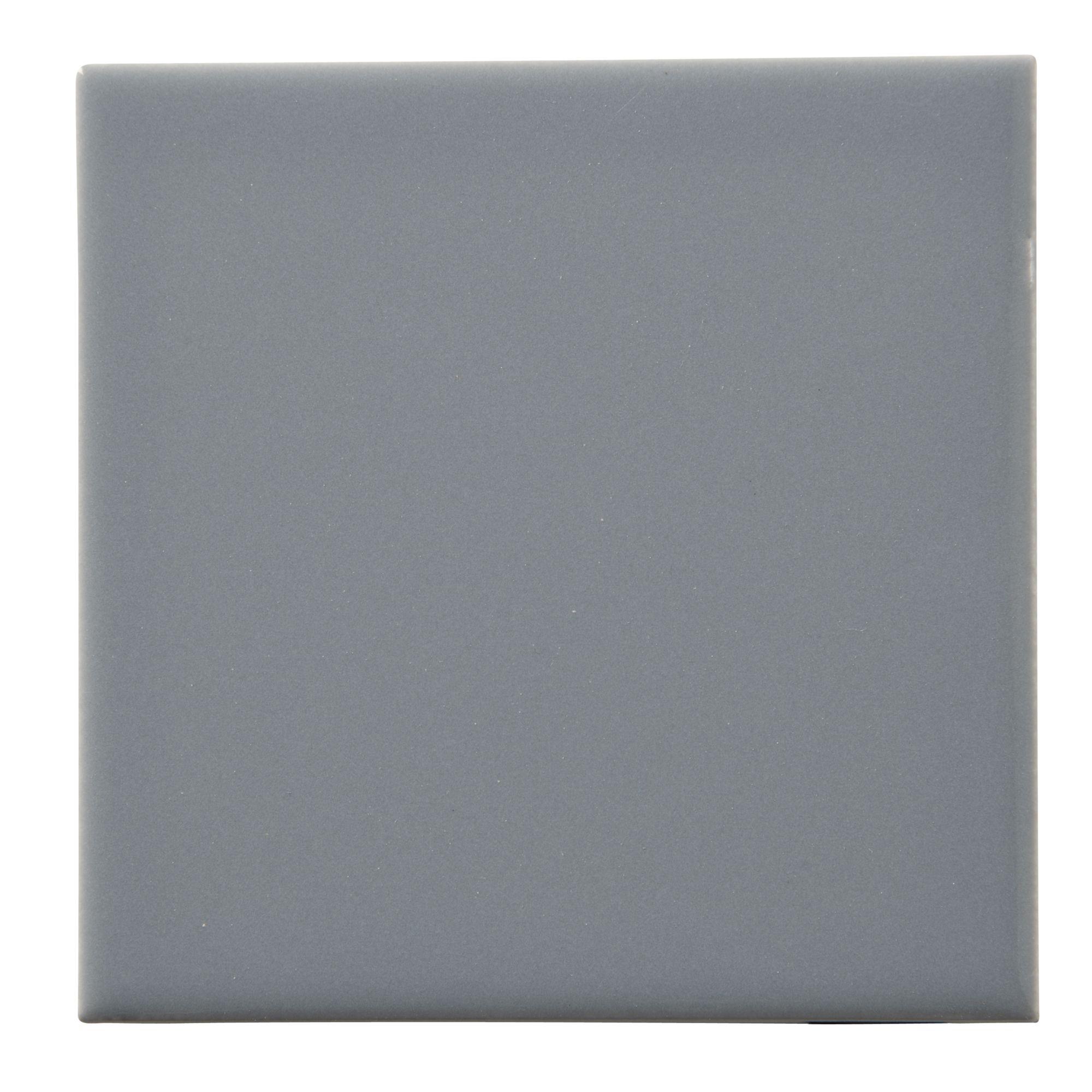 Colours Grey Ceramic Wall Tile DIY