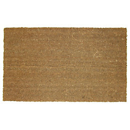 Diall Natural Coir Door Mat (L)0.7m (W)400mm