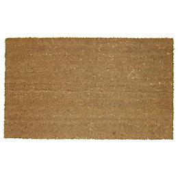 Diall Natural Coir Door Mat (L)0.7m (W)400mm