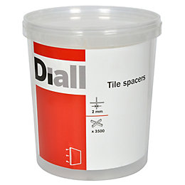 Diall 2mm Tile Spacer, Pack of 3500