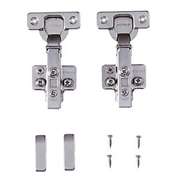 Cooke & Lewis Soft-Close 110° Cabinet Hinge, Pack