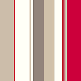 Colours Kensington Red Stripe Wallpaper