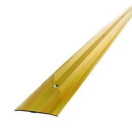 Diall Gold Effect Metal Edging 90 cm