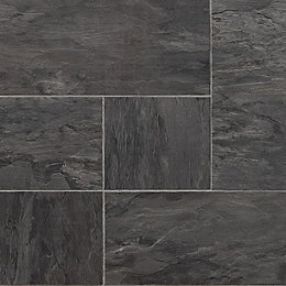 Libretto Natural Slate Effect Laminate Flooring 0.113 m²
