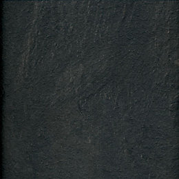 Harmonia Black Slate Effect Laminate Flooring Sample
