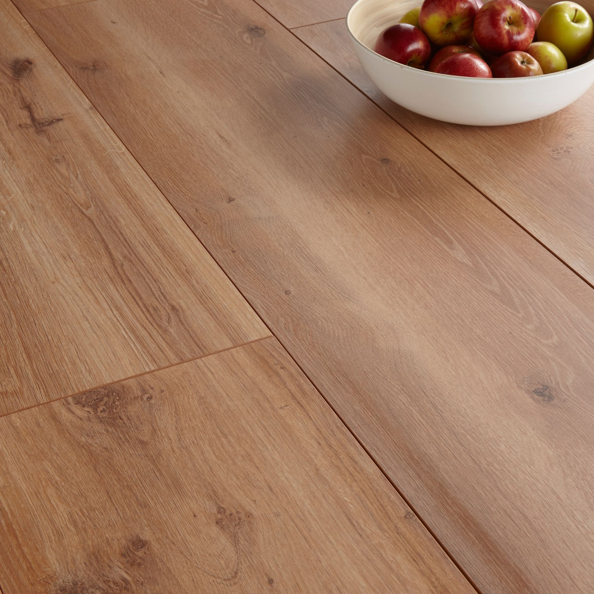 Princeps montana oak effect wide plank laminate flooring 1 for Wide plank laminate flooring