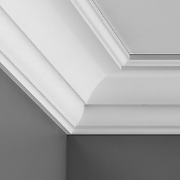 Colours C Profile Internal Corners (L)25cm (W)69mm (T)71mm,