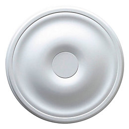 Colours Altamira White Ceiling Rose (Dia)300mm