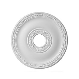 Colours Nayak White Ceiling Rose (Dia)405mm