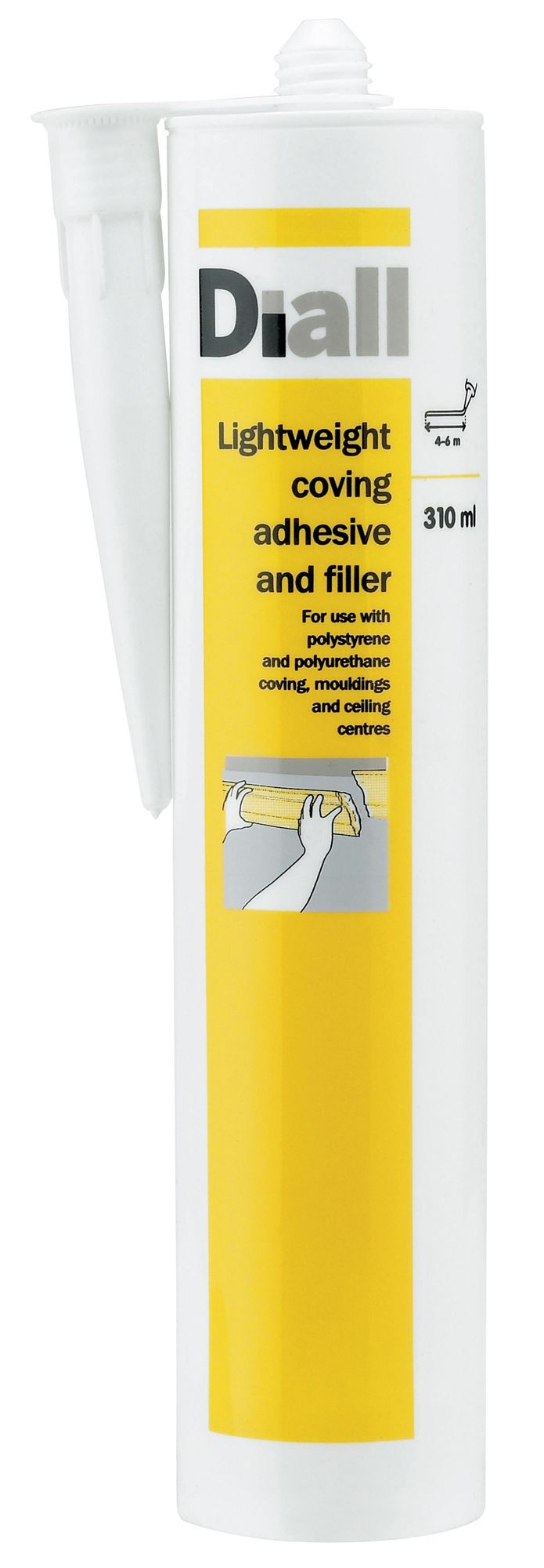 diall coving adhesive filler 310ml departments diy. Black Bedroom Furniture Sets. Home Design Ideas