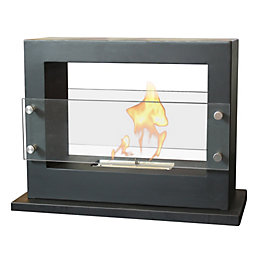 Milan Sparkly White Micro Marble Fire Surround Set