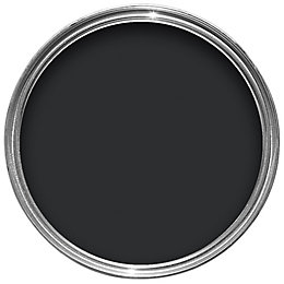 Colours Quick Dry External Black Satin Paint 750ml