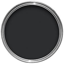 Colours Quick Dry External Black Gloss Paint 2.5L