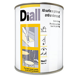 Diall White Primer & Undercoat 750ml