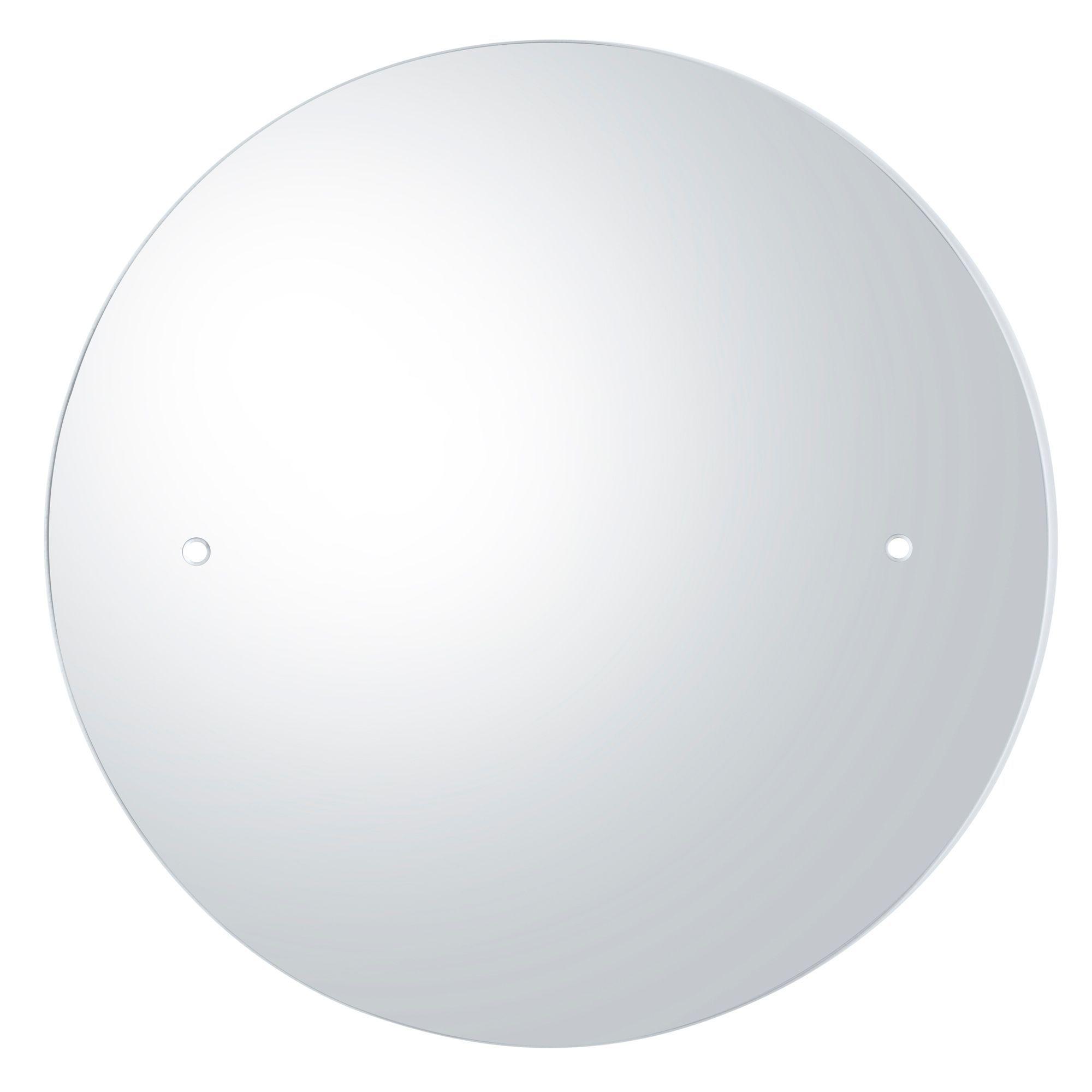 Colours Frameless Circular Mirror (h)400mm (w) 400mm