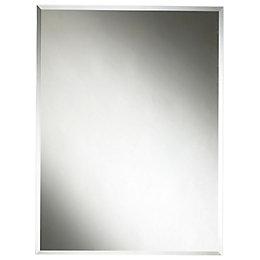 Colours Clear Unframed Rectangular Mirror (H)600mm (W) 450mm