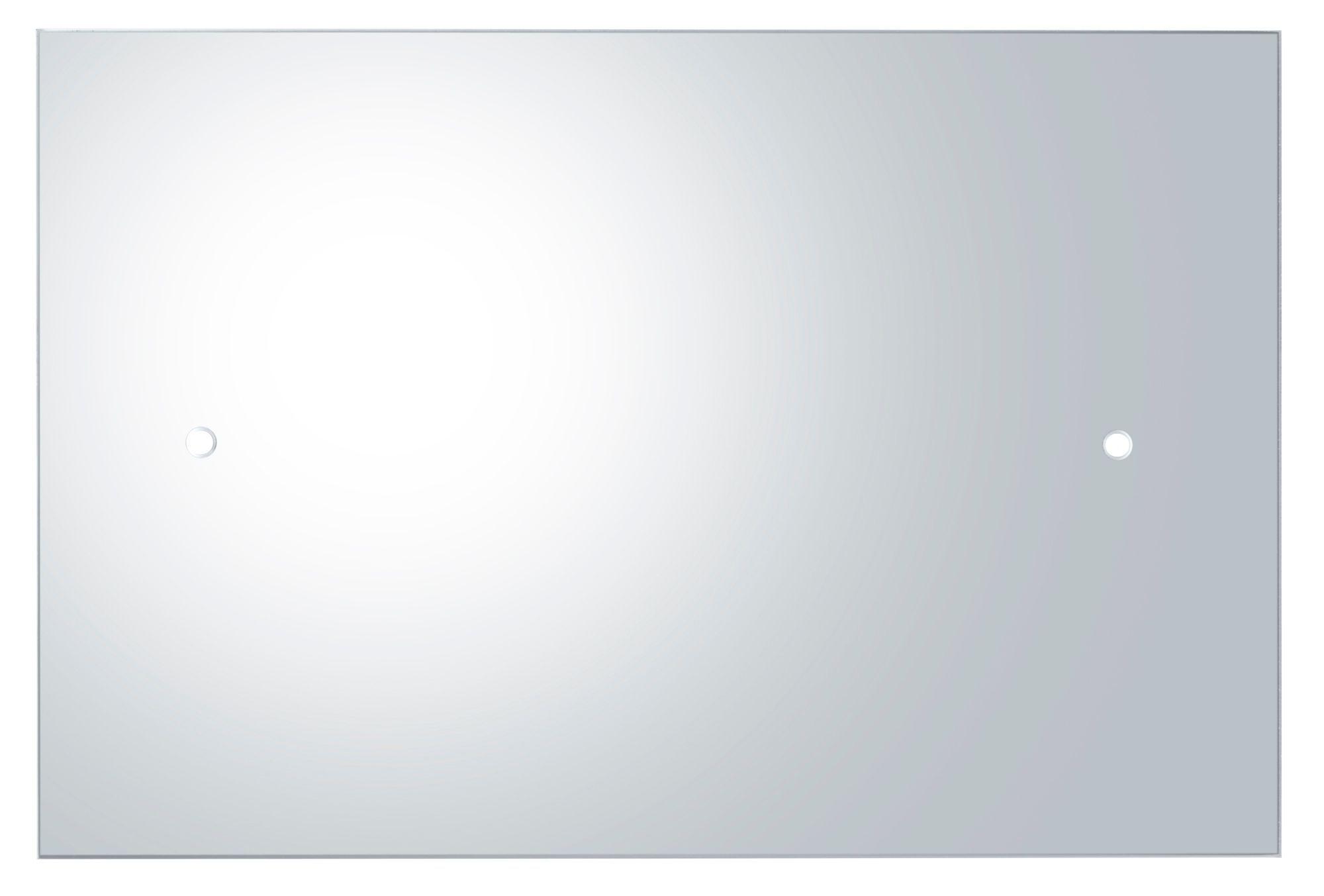 Colours Frameless Rectangular Mirror (h)450mm (w) 300mm