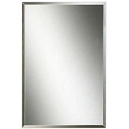 Colours Clear Unframed Rectangular Mirror (H)450mm (W) 300mm