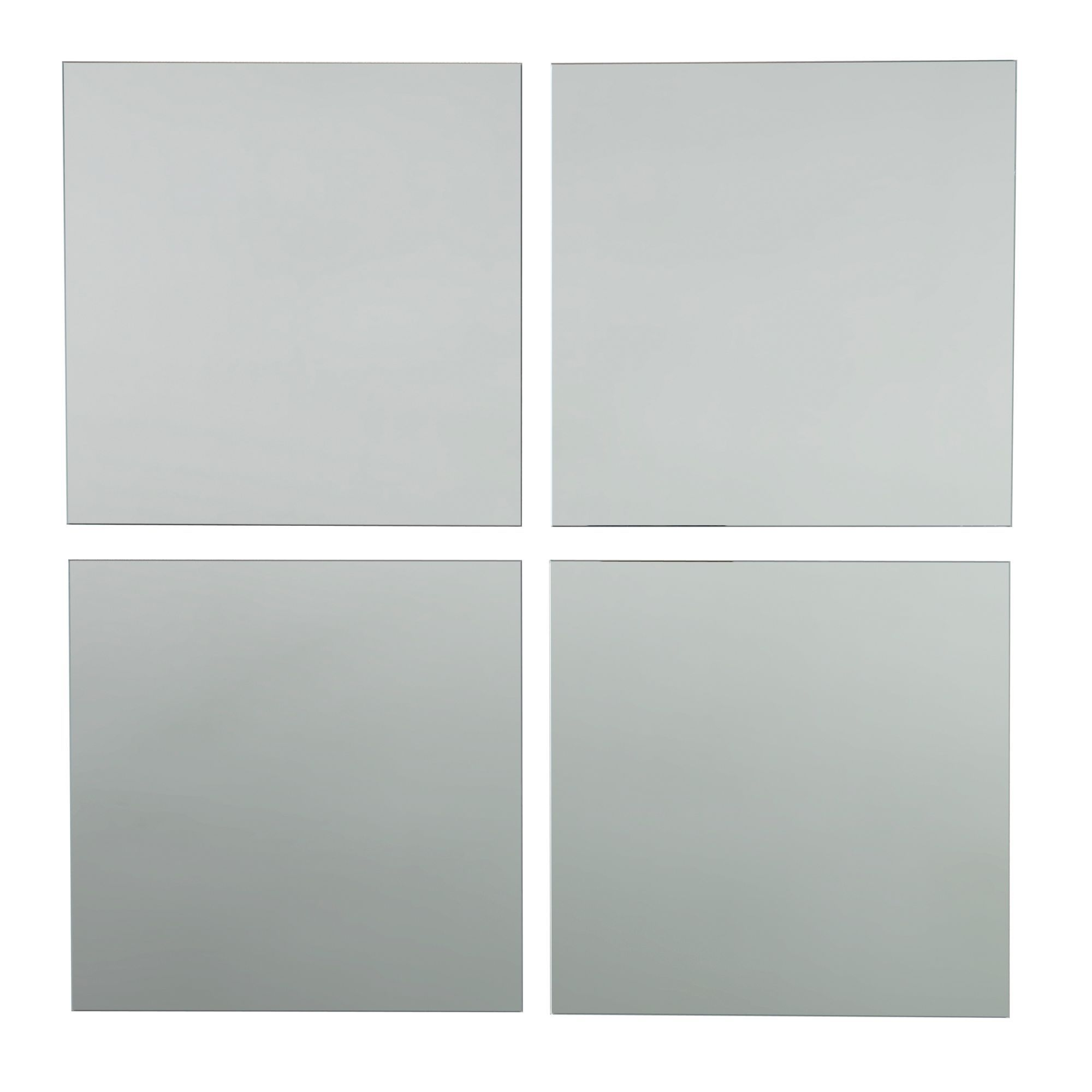 Colours Frameless Square Mirror (h)220mm (w) 220mm