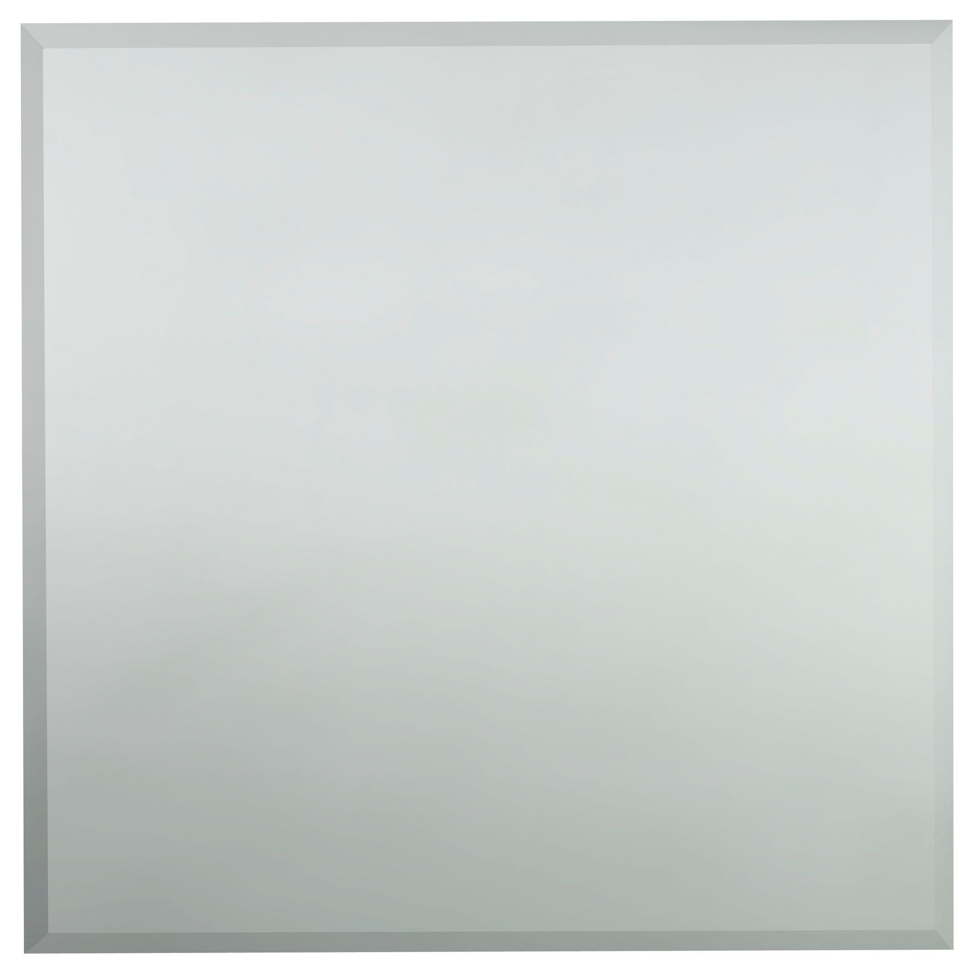 Colours Frameless Square Mirror (h)600mm (w) 600mm