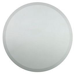 Colours Clear Unframed Circular Mirror (H)400mm (W) 400mm