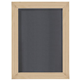 Oak Effect Wood Picture Frame (H)20.7cm x (W)15.7cm