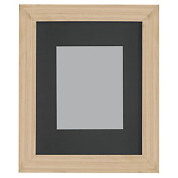 Oak Effect Wood Picture Frame (H)27.7cm x (W)22.7cm