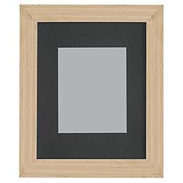 Oak Effect Wood Picture Frame (H)27.7cm x (W)22.7cm