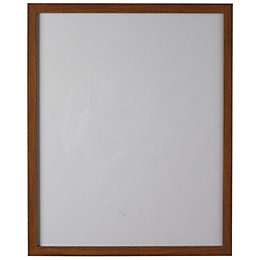 Walnut Effect Wood Picture Frame (H)20.7cm x (W)15.7cm