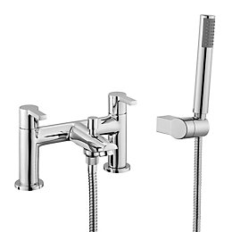 Cooke & Lewis Purity Chrome Bath Shower Mixer