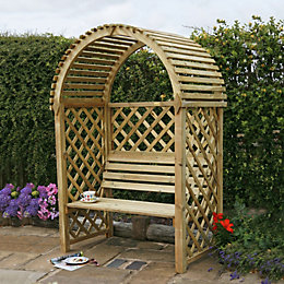 Blooma Softwood Round Top Arbour