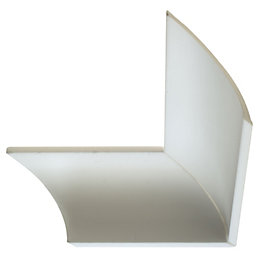 Colours C Profile Coving (L)2m (W)100mm (T)20mm, Pack