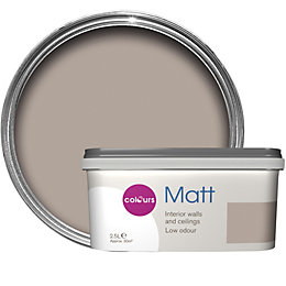 Colours Chocolate Milkshake Matt Emulsion Paint 2.5L