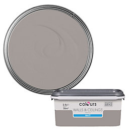 Colours Black Pepper Matt Emulsion Paint 2.5L