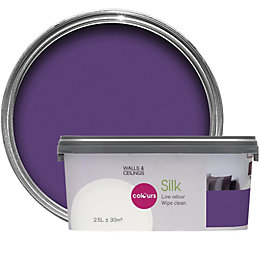 Colours Violet Imperial Silk Emulsion Paint 2.5L