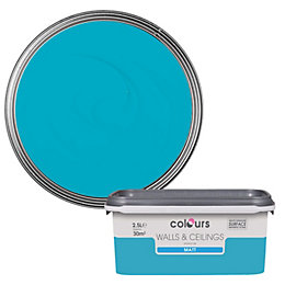 Colours Standard Atoll Matt Emulsion Paint 2.5L