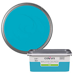 Colours Standard Atoll Silk Emulsion Paint 2.5L