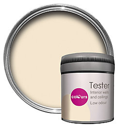 Colours Magnolia Matt Emulsion Paint 50ml Tester Pot