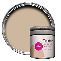Colours Warm Beige Matt Emulsion Paint 50ml Tester