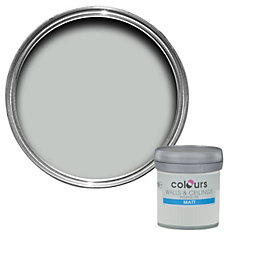 Colours Light Rain Matt Emulsion Paint 50ml Tester