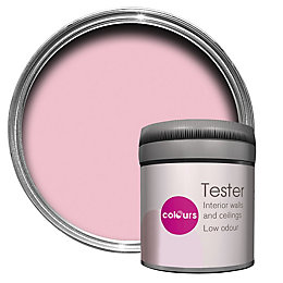Colours Pink Pink Matt Emulsion Paint 50ml Tester