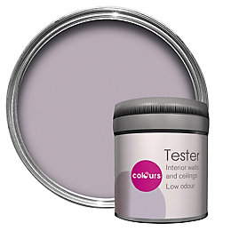 Colours Orchid Matt Emulsion Paint 50ml Tester Pot