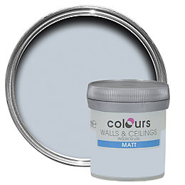 Colours Oxygen Matt Emulsion Paint 50ml Tester Pot